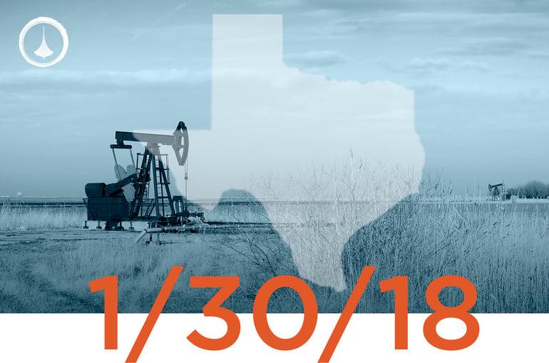 Texas Weekly Report - 01/30/2018